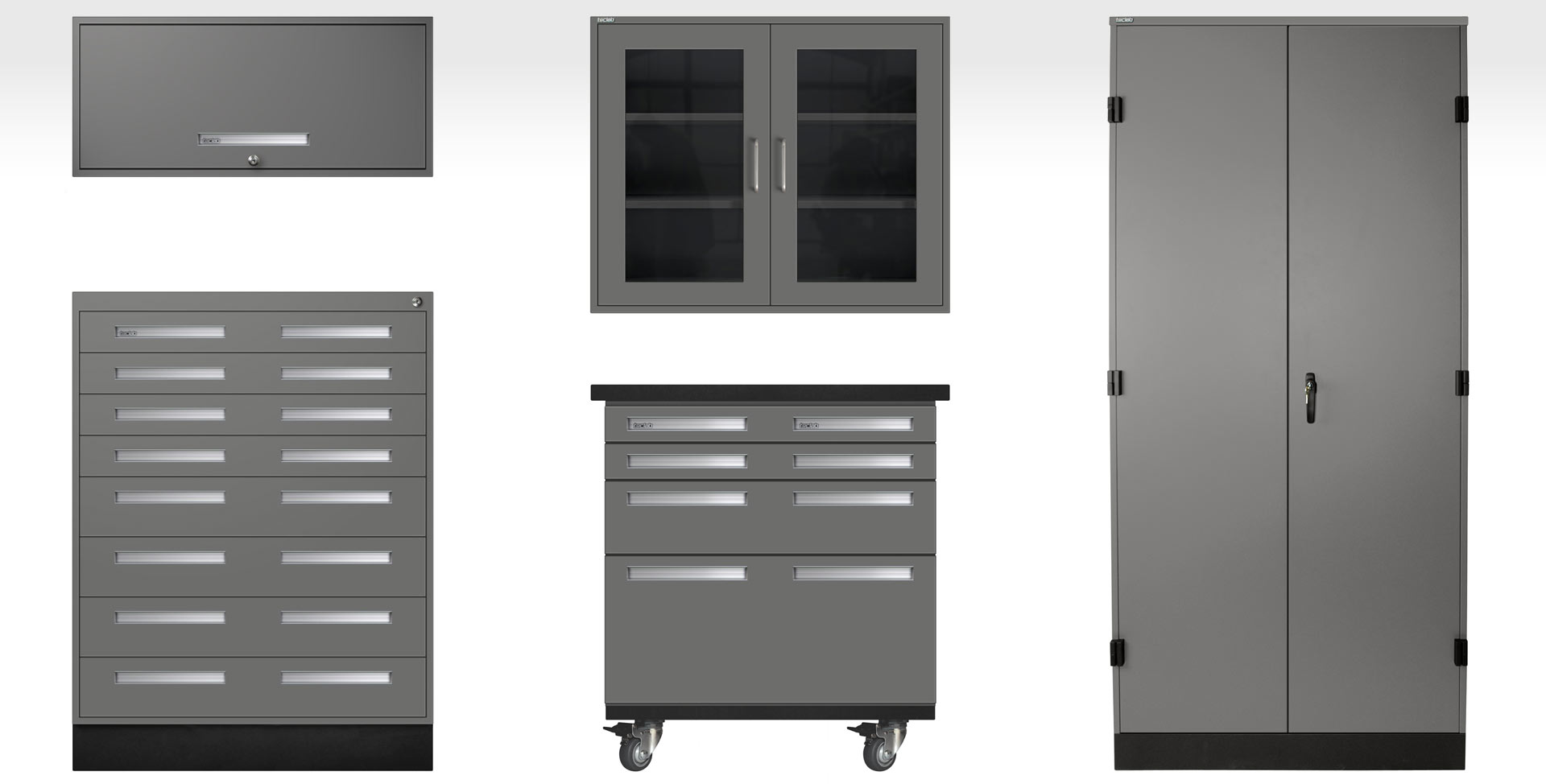 Laboratory Furniture By Teclab - Lab storage cabinets